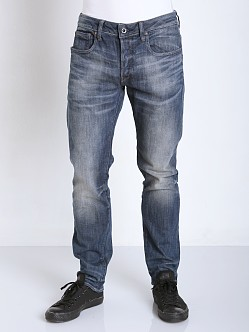 G-Star 3301 Slim Jeans Blue Delm Stretch Denim