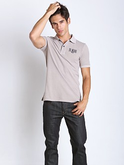 G-Star Hav Pique Polo Shirt Mercury