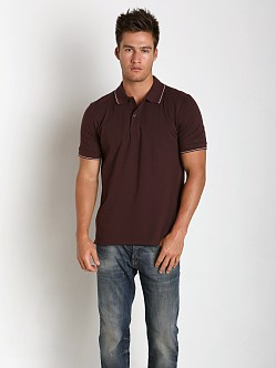 G-Star Harm Premium Stretch Polo Shirt Dk Fig