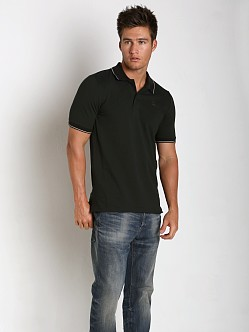 G-Star Harm Premium Stretch Polo Shirt Black