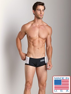 N2N Edge Swim Trunk Black