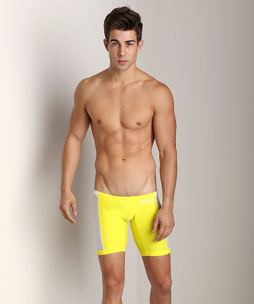 N2N Edge Swim Jammer Yellow