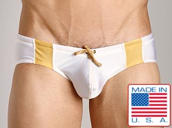 N2N University Swim Brief White