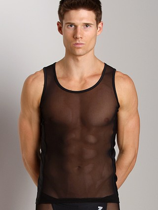 Complete the look: N2N Bodywear Sheer Skin Tank Black