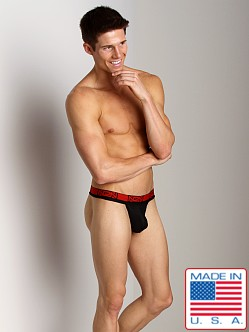 N2N Power Mesh G-String Black