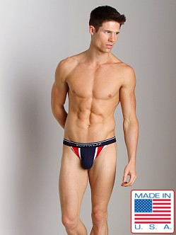 N2N Signature G-String Navy