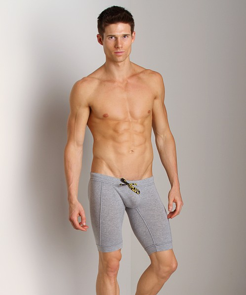 N2N Cotton Sports Biker Heather