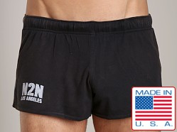 N2N Gym Boy Short Shadow Black