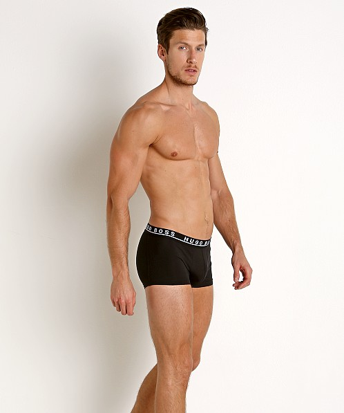 Hugo Boss Cotton Stretch Trunks 3-Pack Black