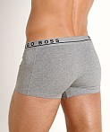 Hugo Boss Cotton Stretch Trunks 3-Pack Grey/Charcoal/Black, view 4