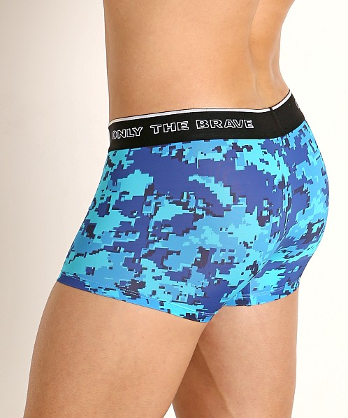 Diesel Motion Division 55-D Trunk Camouflage Blue