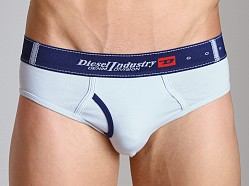 Diesel Contrast Blade Briefs Powder Blue