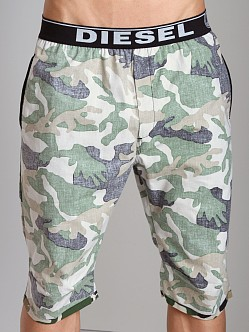 Diesel Bob Camouflage Lounge Shorts Light Camo