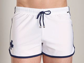 You may also like: Tulio Loose Fit Retro Short White/Navy