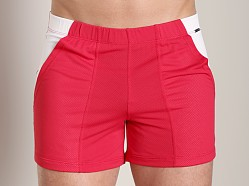 Tulio Color Block Dry Short Red