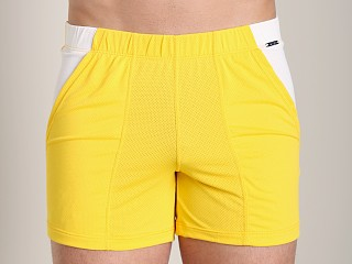 Complete the look: Tulio Color Block Dry Fit Short Yellow