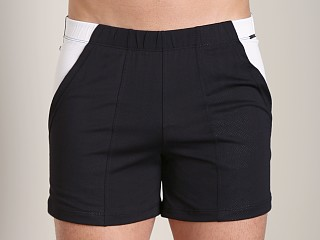 Complete the look: Tulio Color Block Dry Fit Short Black