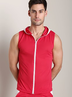 Tulio Color Block Dry Hoody Red