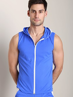 Tulio Color Block Dry Fit Hoody Royal