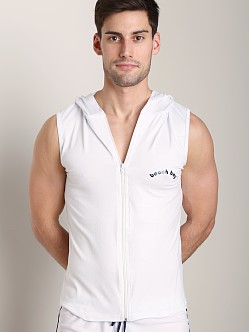 Tulio Beach Boy Hoody White