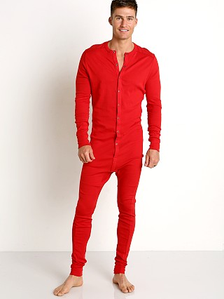 2xist Essential Union Suit Salsa Red