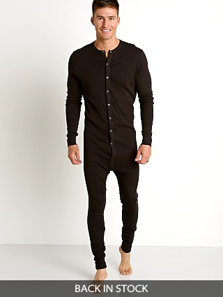 2xist Essential Union Suit Black