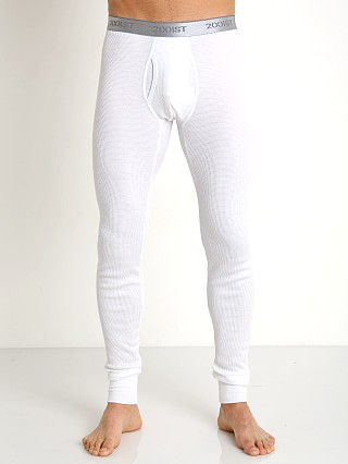2xist Sport Tech Long John White