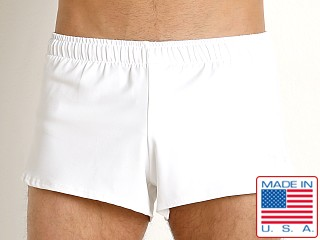 LASC Surf Runner Swim/Run Short White