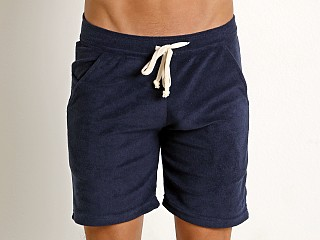Complete the look: LASC Solid Terry Rower Short Navy