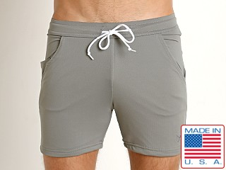 LASC Performance Pique Workout Short Grey