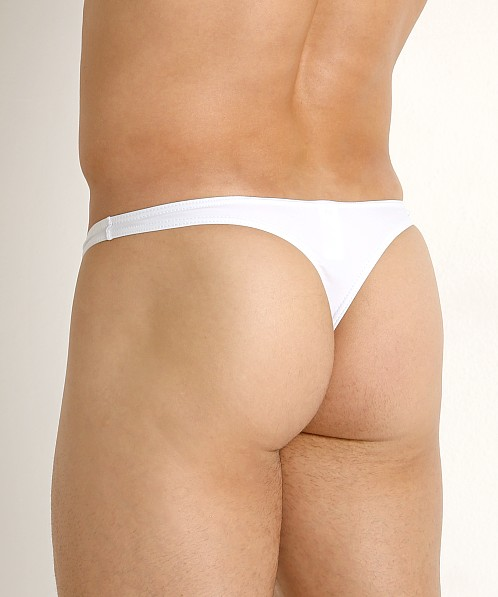 CockSox Enhancer Swim Thong White Pointer