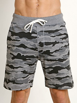 Diesel Pan Shorts Grey Camo