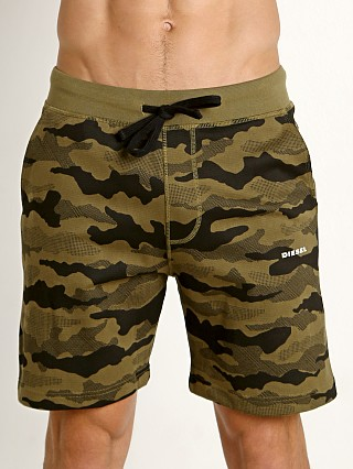 Diesel Pan Shorts Green Camo