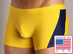 Go Softwear Marseilles Square Cut Yellow/Navy