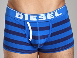 Diesel Fresh & Bright Striped Divine Boxer Short Navy/Baby Blue