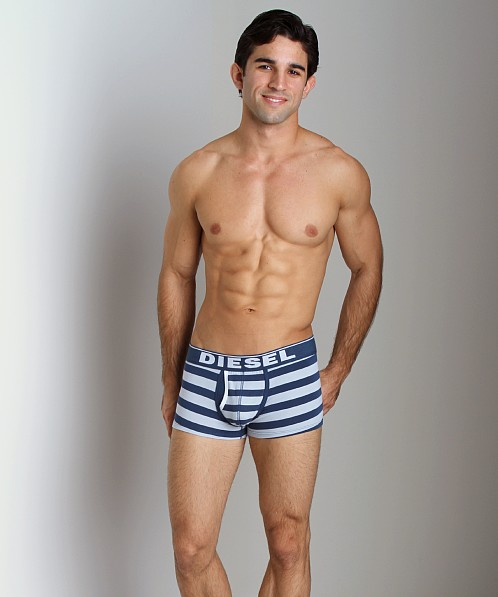 Diesel Fresh & Bright Striped Divine Boxer Short Blue/Powder Blu