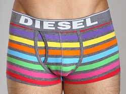 Diesel Rainbow Striped Divine Trunk Grey