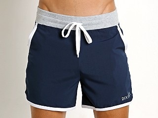 You may also like: 2xist Core Contrast Binding Jogger Short Varsity Navy