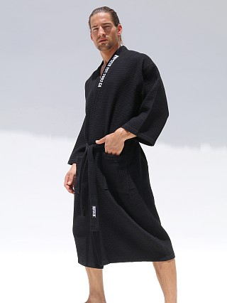 Rufskin Oasis Ultimate Comfort Cotton Blend Robe Black