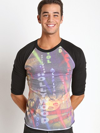You may also like: Pistol Pete Hollywood Print Raglan Sleeve Tee