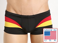 Pistol Pete Euro Swim Trunk Yellow