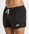 John Sievers Natural Pouch Swim Shorts Black, view 3