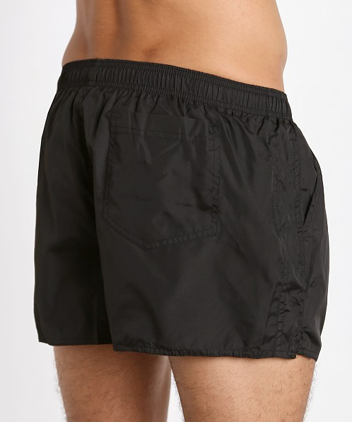 John Sievers Natural Pouch Swim Shorts Black