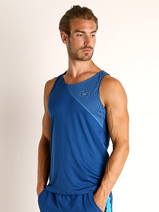 Under Armour Qualifier Iso-Chill Runner's Tank Top Blue