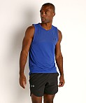 Under Armour Seamless Tank Top Royal/Black, view 2
