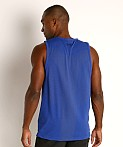 Under Armour Seamless Tank Top Royal/Black, view 4