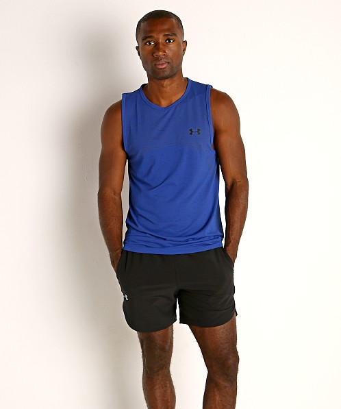 Under Armour Seamless Tank Top Royal/Black