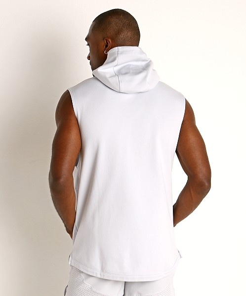 Under Armour Double Knit Sleeveless Hoodie Halo Gray/Black