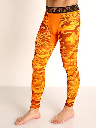 Under Armour Cold Gear Printed Leggings Vibe Orange/Black