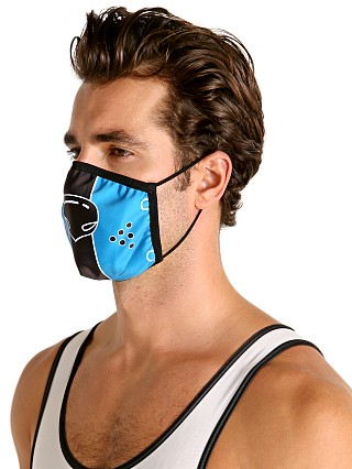 Cell Block 13 Puppy Nose Face Mask Blue